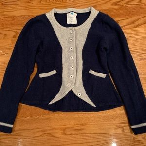 Anthropologie Sparrow Sweater Jacket Size Large